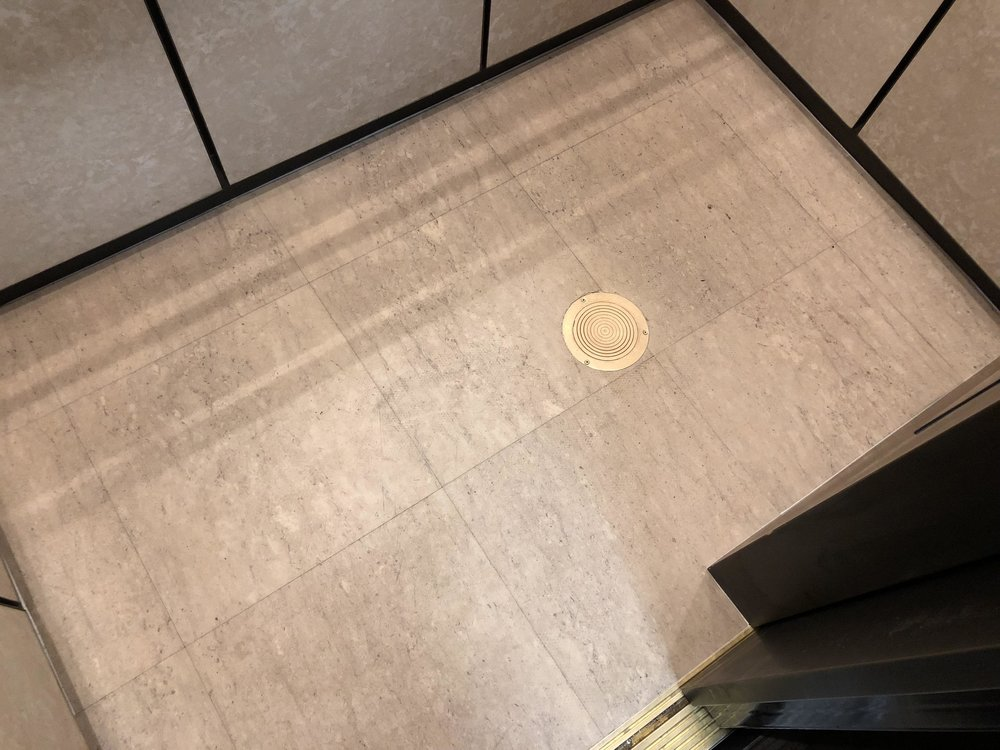 Hi tech elevator for Elevator flooring options