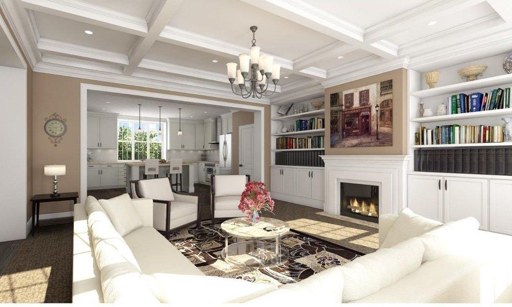 BERWYN NEW CONSTRUCTION1067 Lancaster AvenueBerwyn, Pa 19312 Lot #14 Bed | 4.1 Bath | $599,000 -