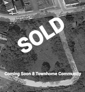 OFF MARKET LOT for 8 townhomes|116 Railroad Street, Phoenixville, PA 19460 | Homes Built 5 Remaining! -