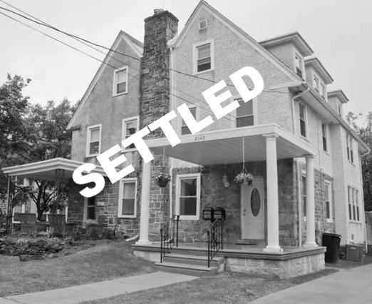 SETTLED | 2040 Oakmont Ave, Havertown PA 19083  -