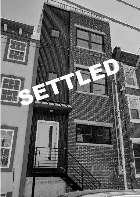 SETTLED | 1721 N 3rd Street Philadelphia, PA 19122 -