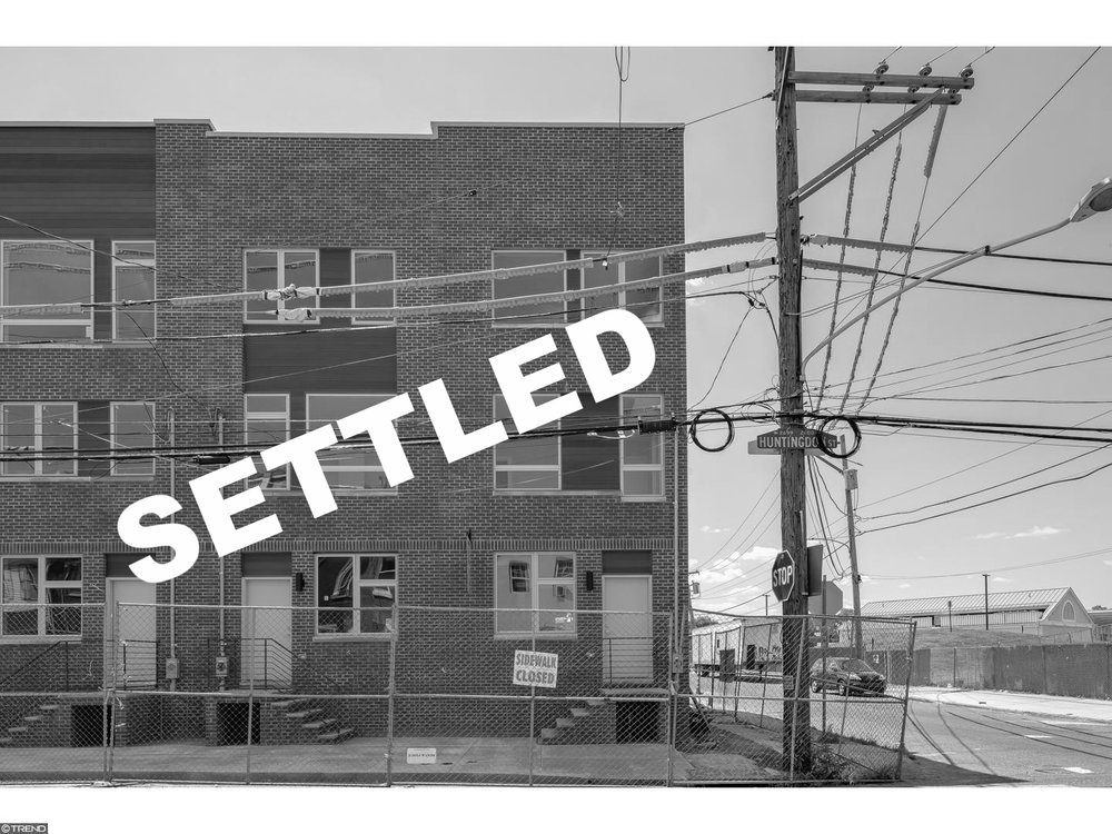 SETTLED |2644 E Huntingdon Street Philadelphia, PA 19125 -