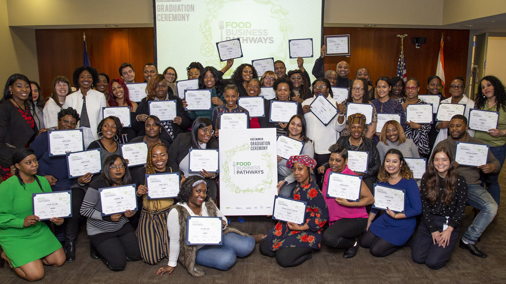 Hundreds of public housing residents are becoming food entrepreneurs thanks to Food Business Pathways, a free 10-week program that offers food-loving New York City Housing Authority residents customized business training and resources.