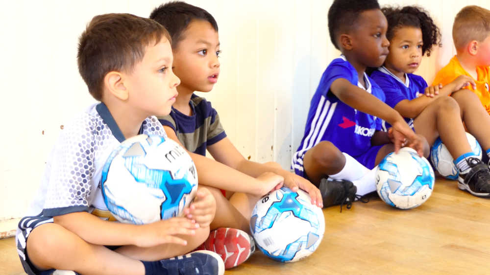 """Since my son has joined Pro Elite Football Academy, I have found that my son has became more confident and outgoing.  The coaches are very patient and encourage the kids to join in, regardless of their ability.""   Yvonne, parent of Nathan (3-5)"