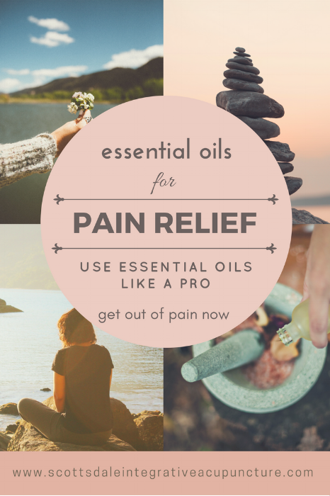 essential oils pain relief
