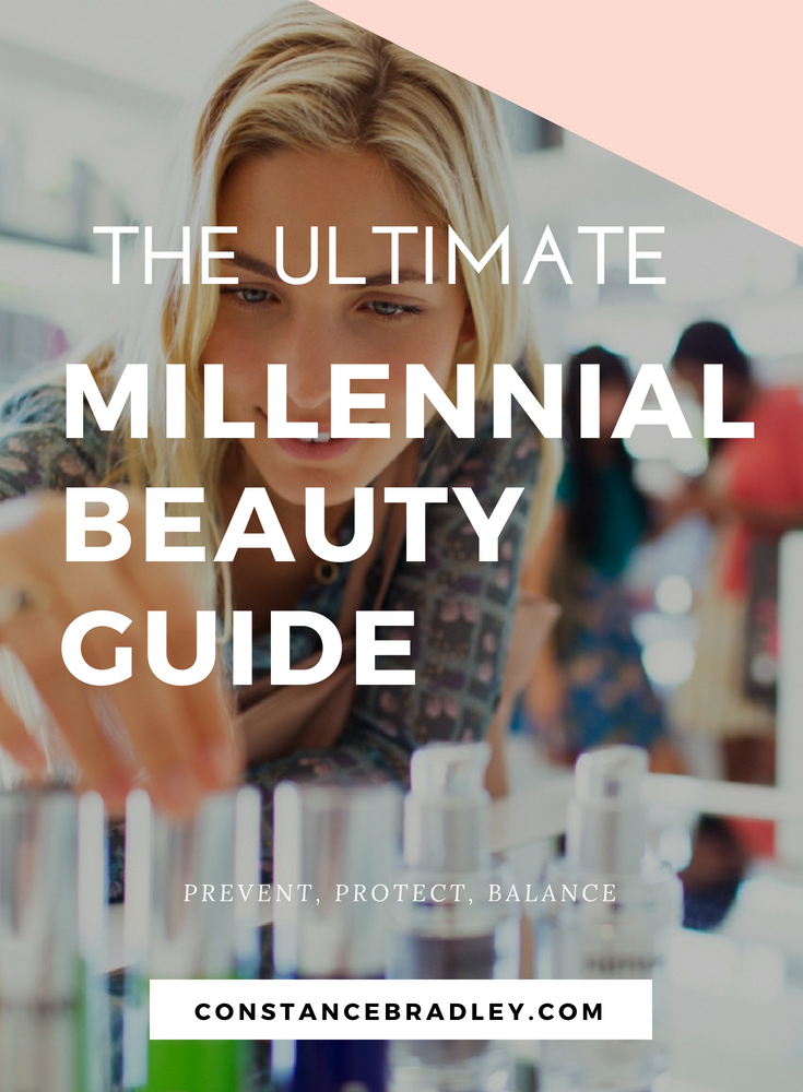 Millennial skincare is all about prevention. Use these natural beauty techniques to prevent, protect, and get glowing skin that is low maintenance beauty! #millennialskincare #millennialbeauty #millennialpink #beautytips #naturalbeauty #acnecures