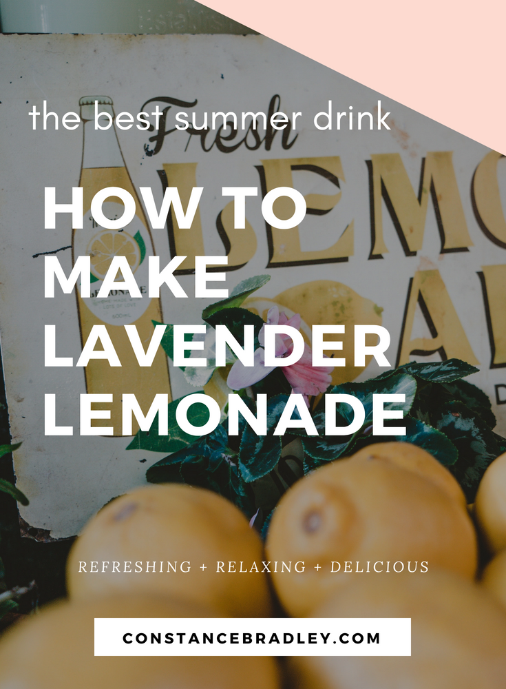 I love lavender - essential oil, body care, even food! This recipe for lavender lemonade is perfect for when the temperature is warm. In Chinese nutrition, lemons are cooling, harmonizing, thirst-relieving and promote fluids. Add in relaxing and calming French lavender and you have a perfect summer drink! #lavender #lavenderrecipes #lavenderlemonade