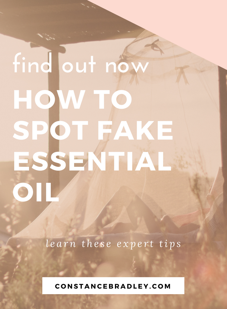 How do you know if your essential oil is real? Learn these expert tips to spot fake essential oil and find out whether your essential oil is an impostor. #essentialoils #fakeessentialoils #aromatherapy