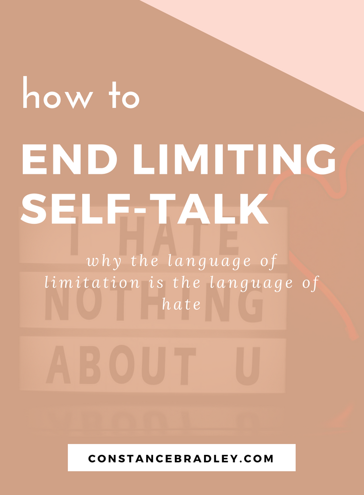 I've noticed that the more I labeled myself with limiting language, the more limits I see in myself. This is real talk on why the way we talk to ourselves matters and how we can fill our hearts with honest, open talk about who we are and what really matters #selfcare #selflove #limitations #positivethinking #anxiety