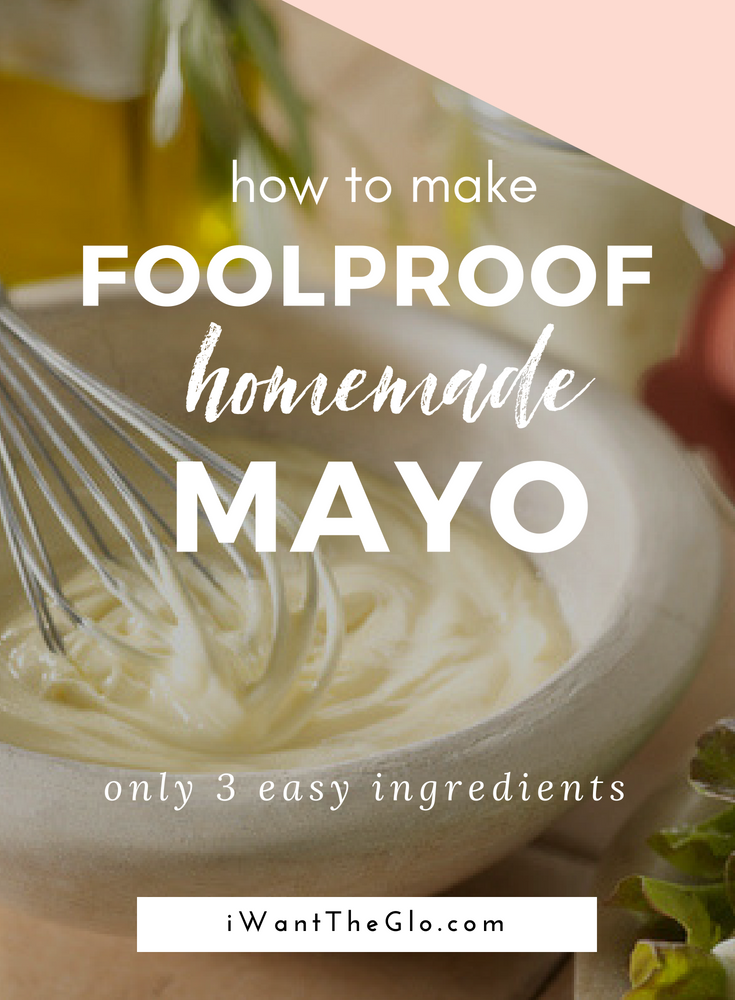 Homemade mayo is easy, contains only real ingredients (no fillers, preservatives, or chemicals here) plus it tastes WAY better than anything you would get from a jar at your local supermarket. Follow this easy mayo recipe and make the best tasting homemade mayo from just 3 ingredients. This mayo is paleo, gluten free, and sugar free.