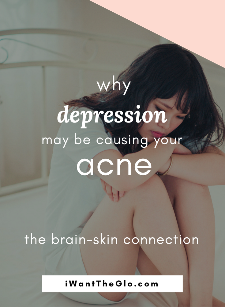A strong link exists between emotional wellness, digestive health, and skin conditions. When one part of this axis is out of balance, the other two invariably start to become unbalanced as well. Your overall health is highly dependent on the wellness of your skin, gut, and emotions. This is why depression, anxiety, and stress can cause skin concerns like acne, eczema, and rosacea.