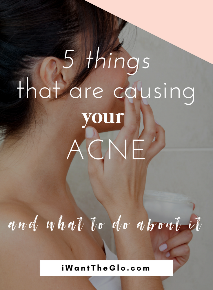 Many of the things we eat, drink, and do every day can be  directly correlated  to your acne. Whether you suffer from an occasional breakout, or you have painful cystic acne, you need to read this guide #acne #acnecauses #clearskin