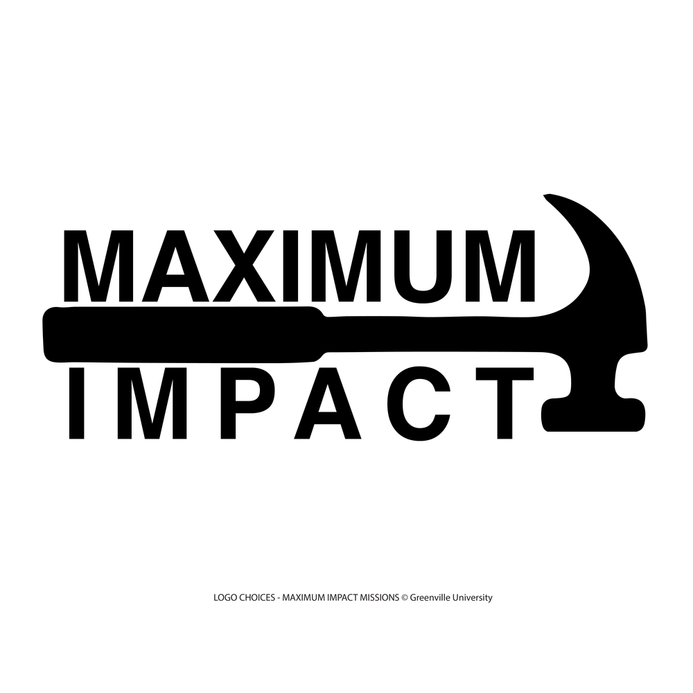 """Maximum Impact Missions"" t-shirt design for GFMC"