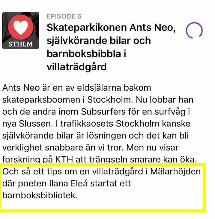 Älska Stockholm Bibliotek Barnstugan