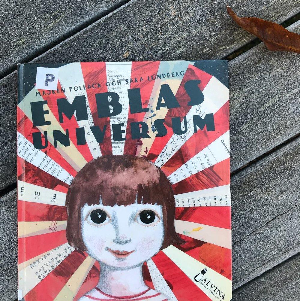 """Iskallt och mysigt: imorgon läser vi (också) """"Emblas universum"""" av Majken Pollack och Sara Lundberg. Fantastiskt!"""