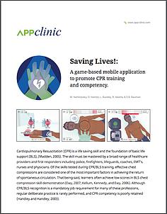 Saving Lives! Abstract