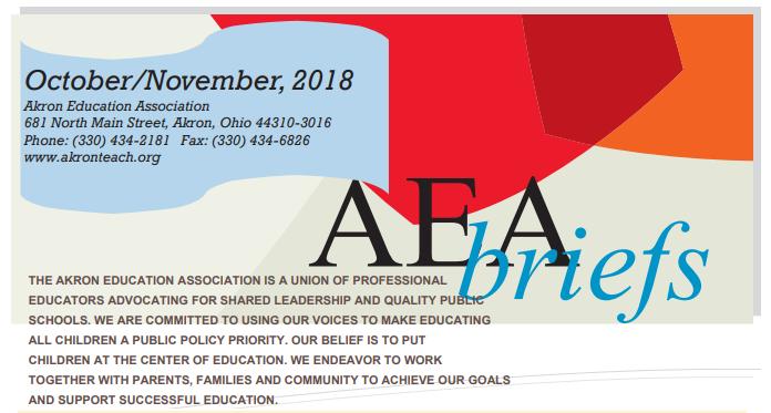 AEA Briefs - October/November 2018