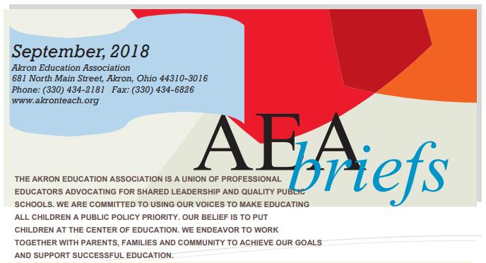 AEA Briefs - September 2018