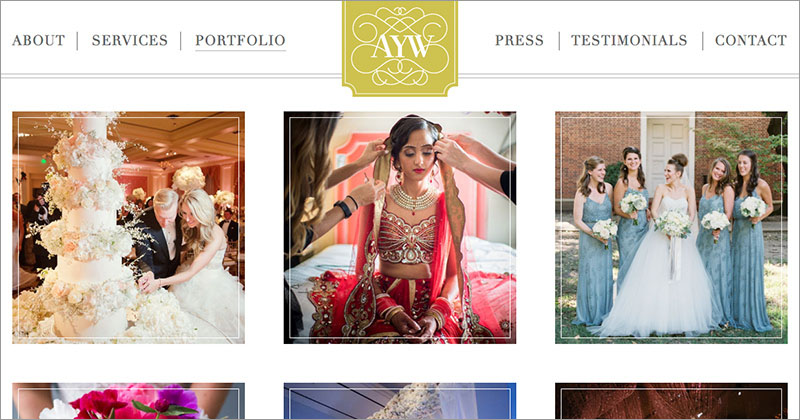AS YOU WISH WEDDINGS & EVENTS  Custom WordPress Website