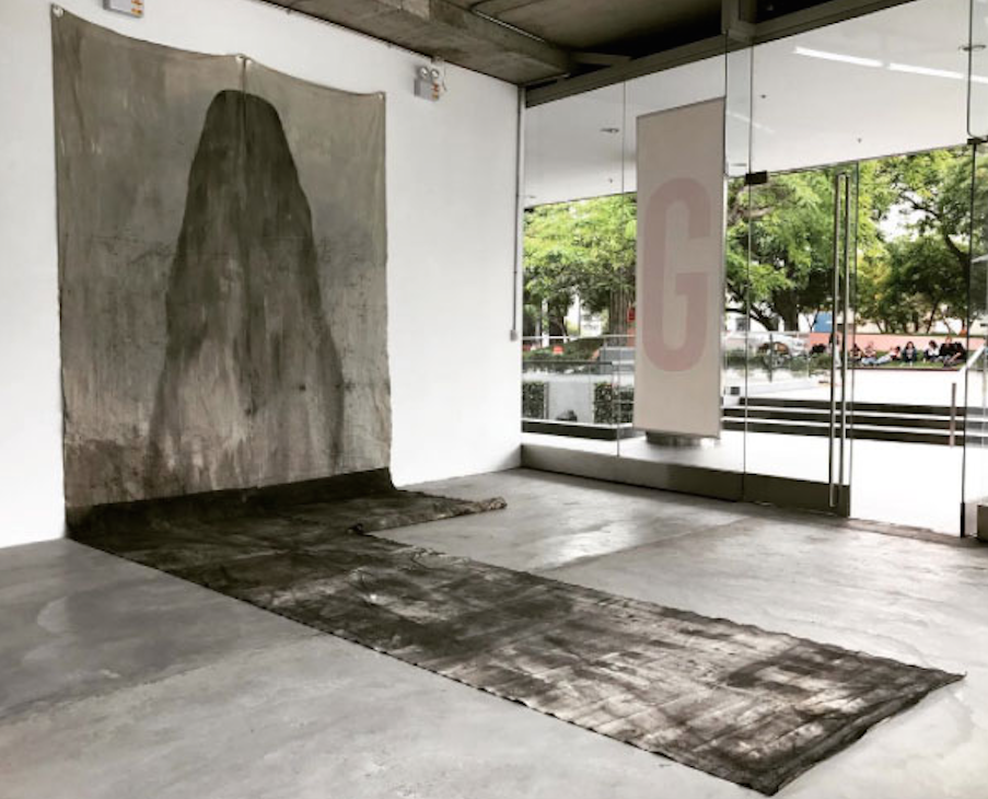 Horizonte  Tinta sobre lona 3.20m x 10m 2016