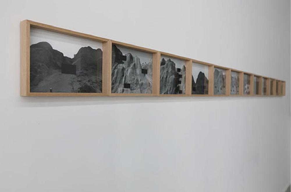 Censura 1-12  Impresión sobre papel 20cm x 30cm (c/u) 2016