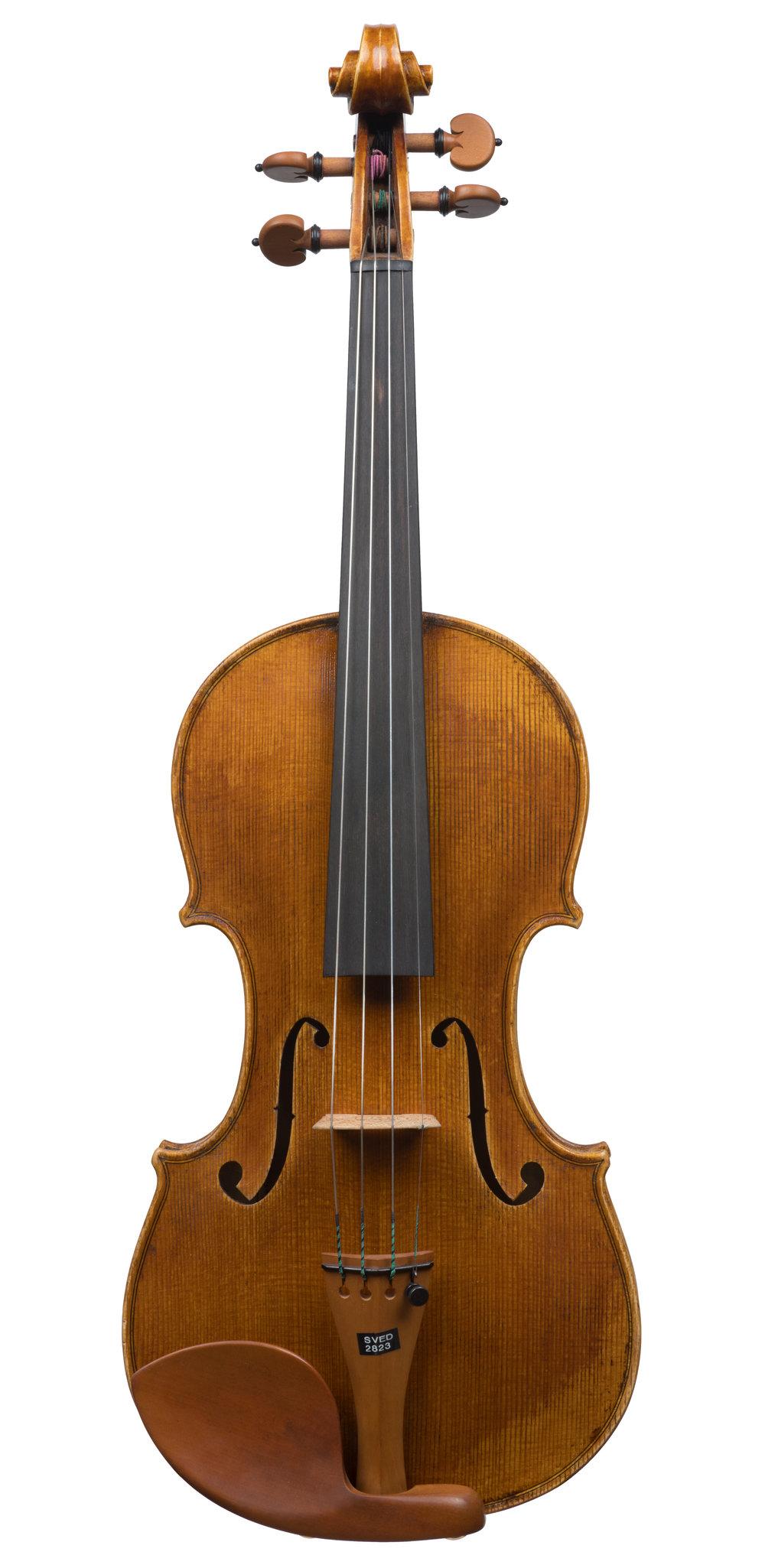 Drew Harding violin, Chicago, 2016 -