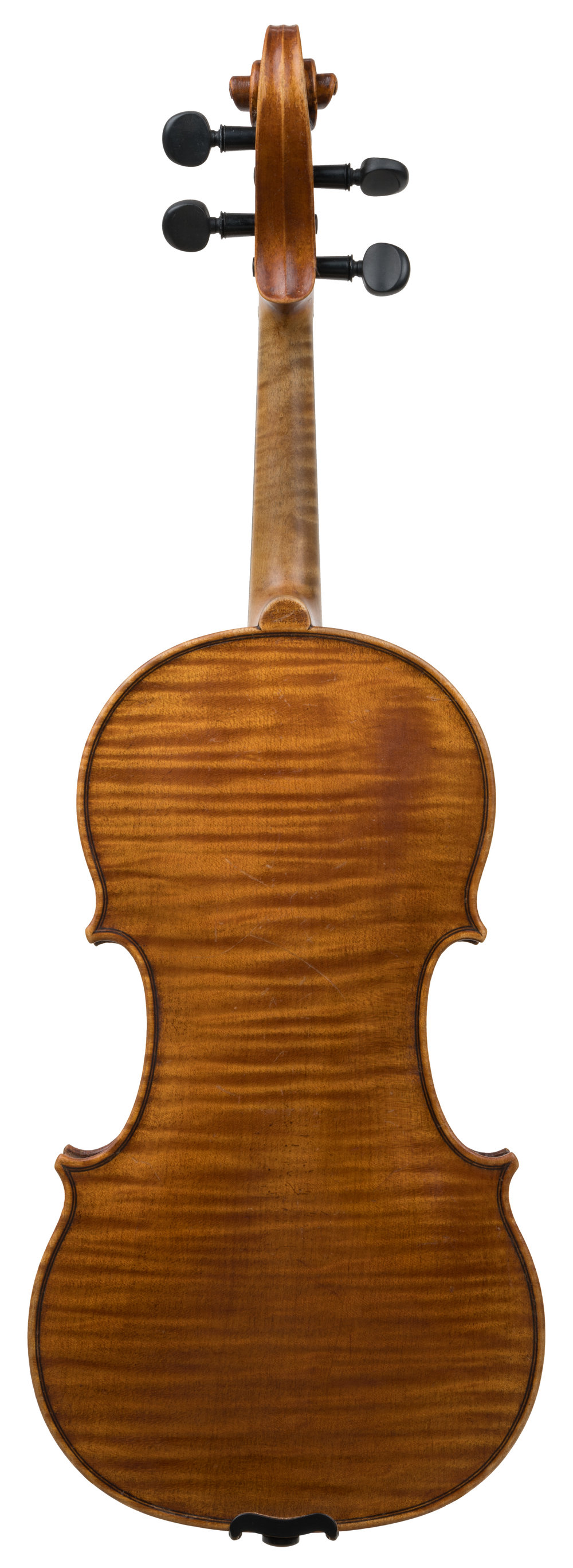 German violin labeled Guarneri back.jpg