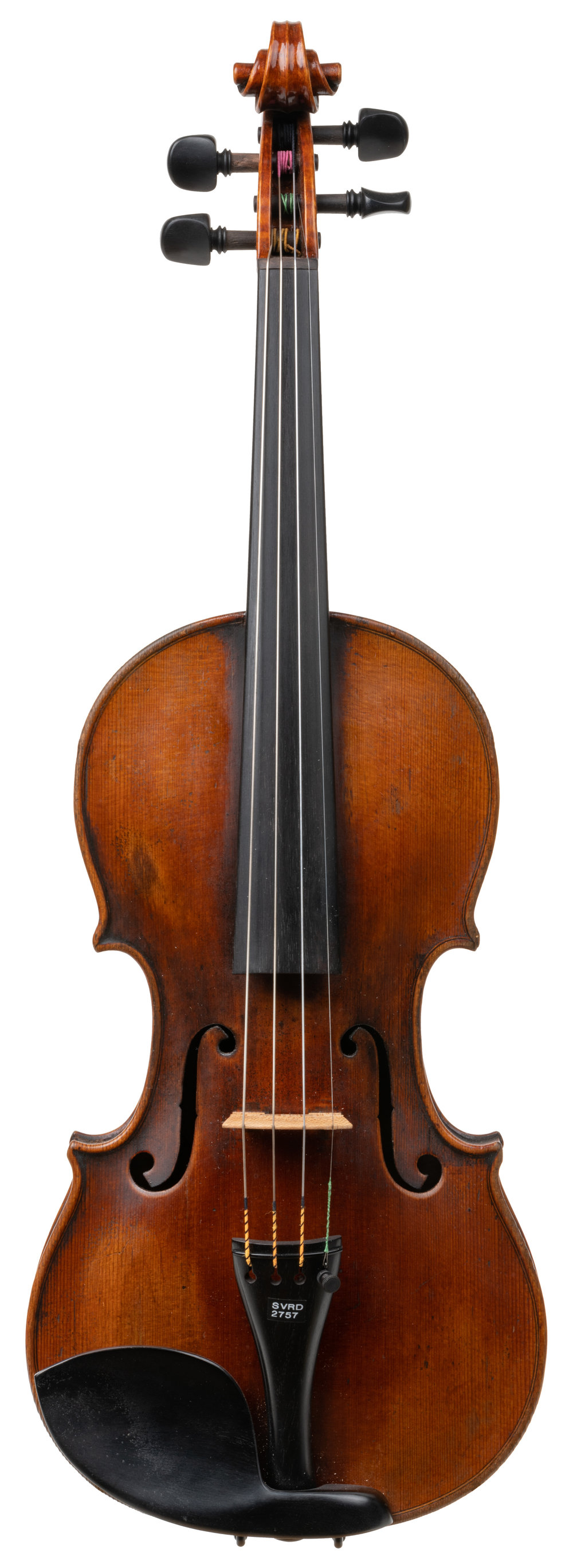 German violin labeled Jacob Stainer front.jpg