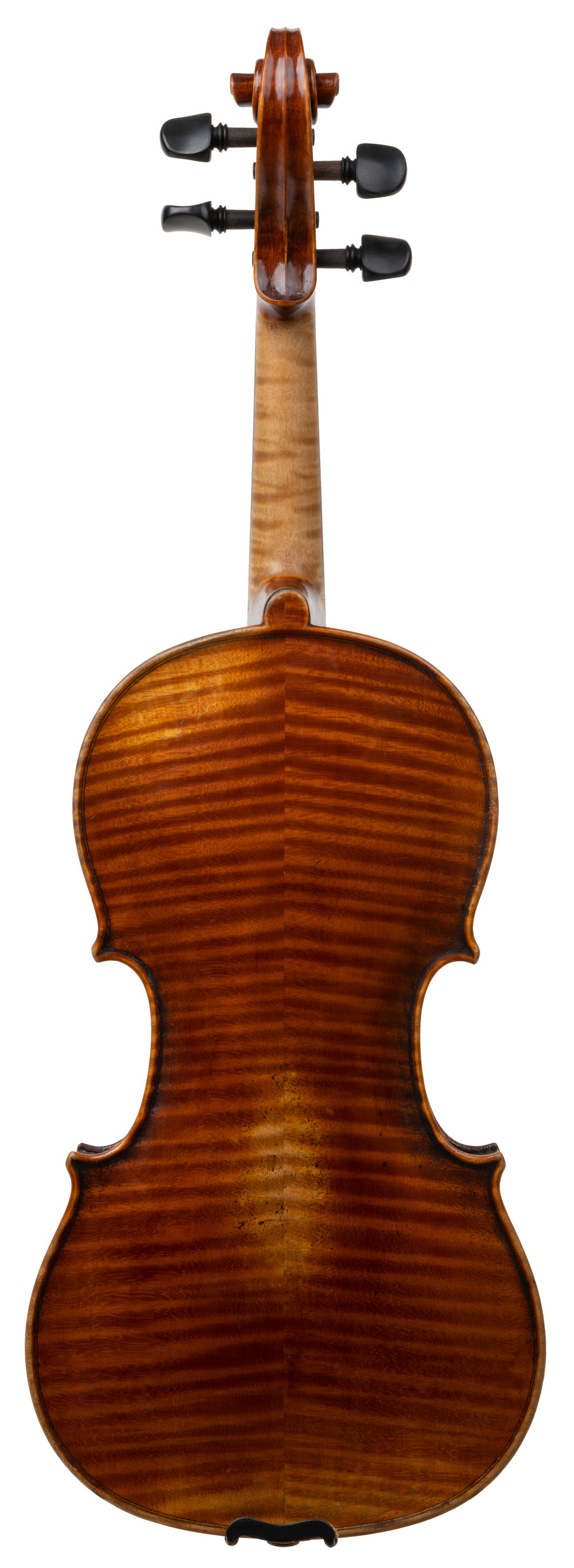 German violin labeled Jacob Stainer back.jpg