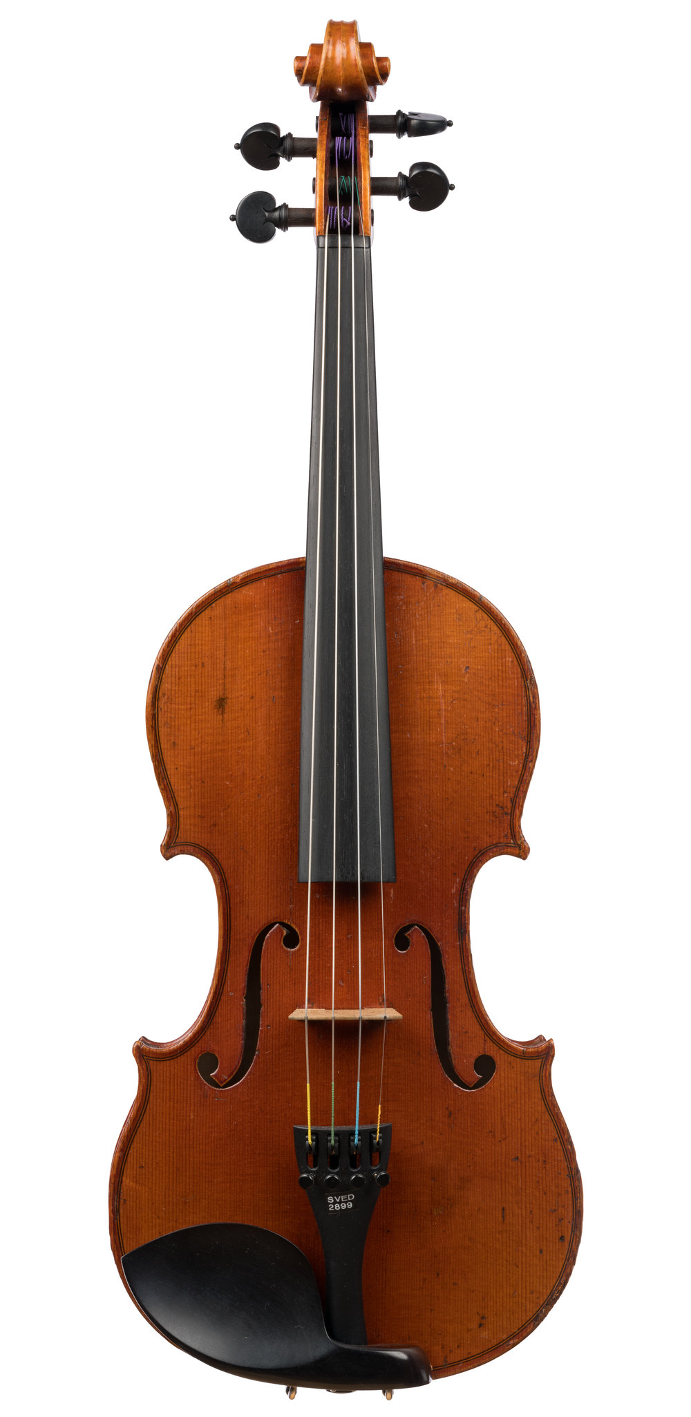 Unlabeled German Violin, ca 1930 -