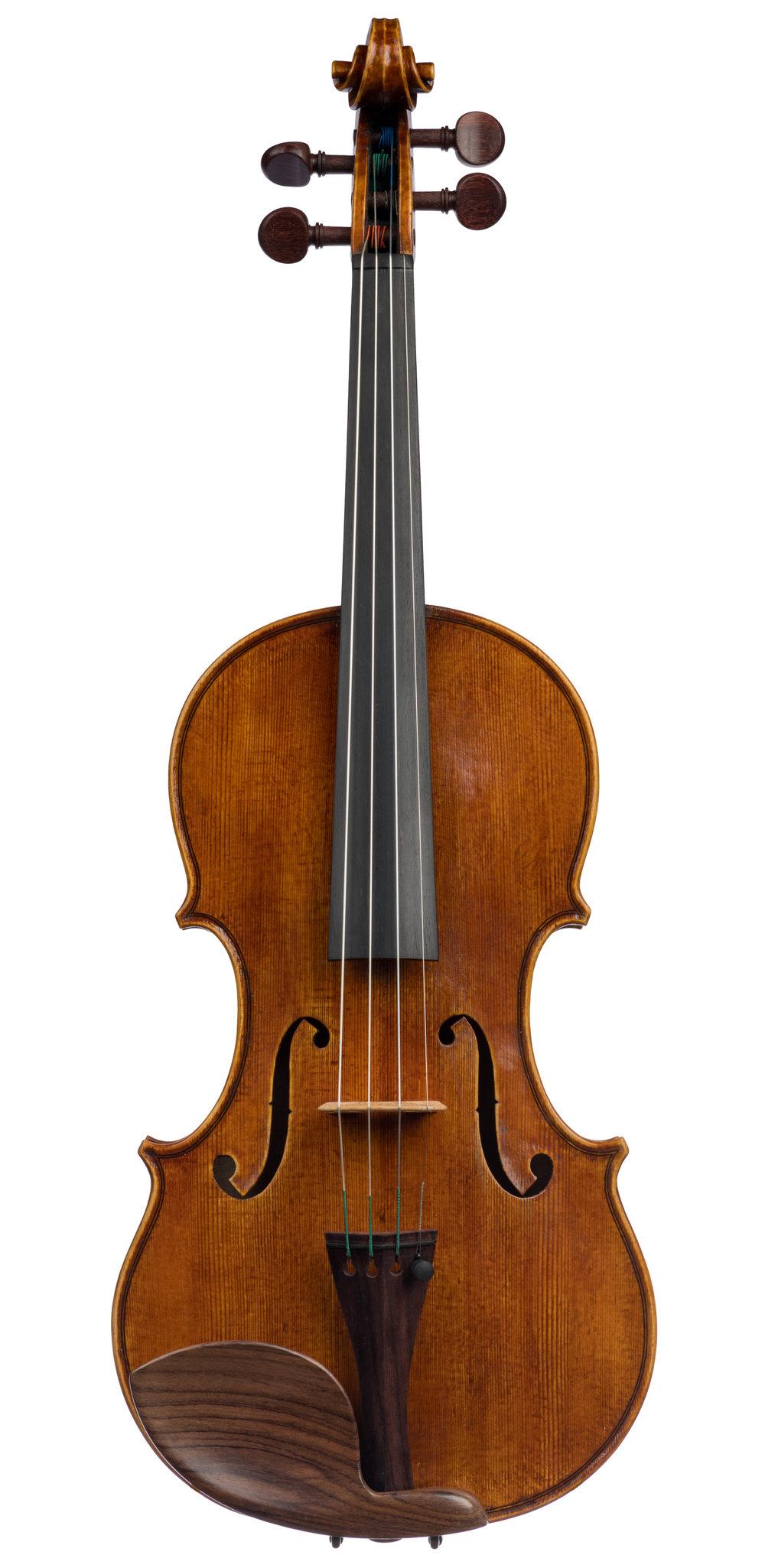Noah Saunders Scott, Guarneri Model violin, Chicago, 2019 -