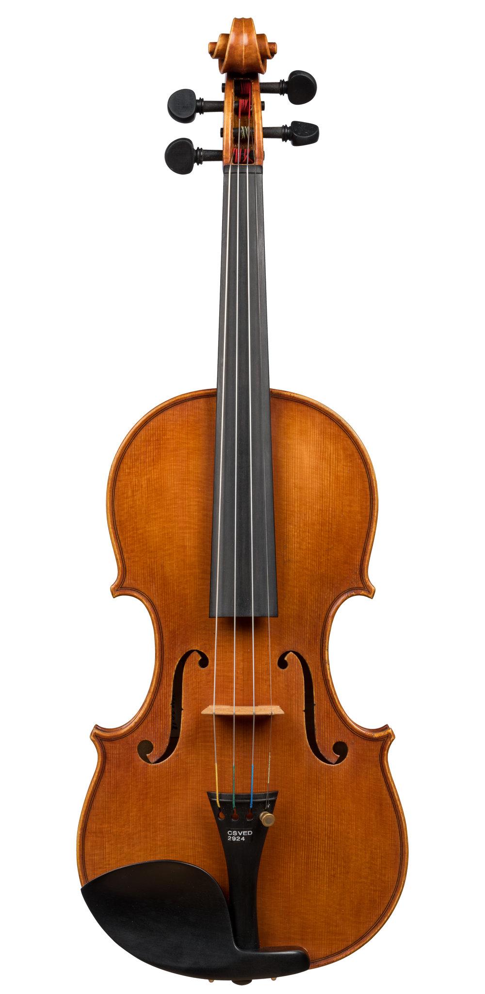 Steven R. Thomas violin, Chicago, 2018 -