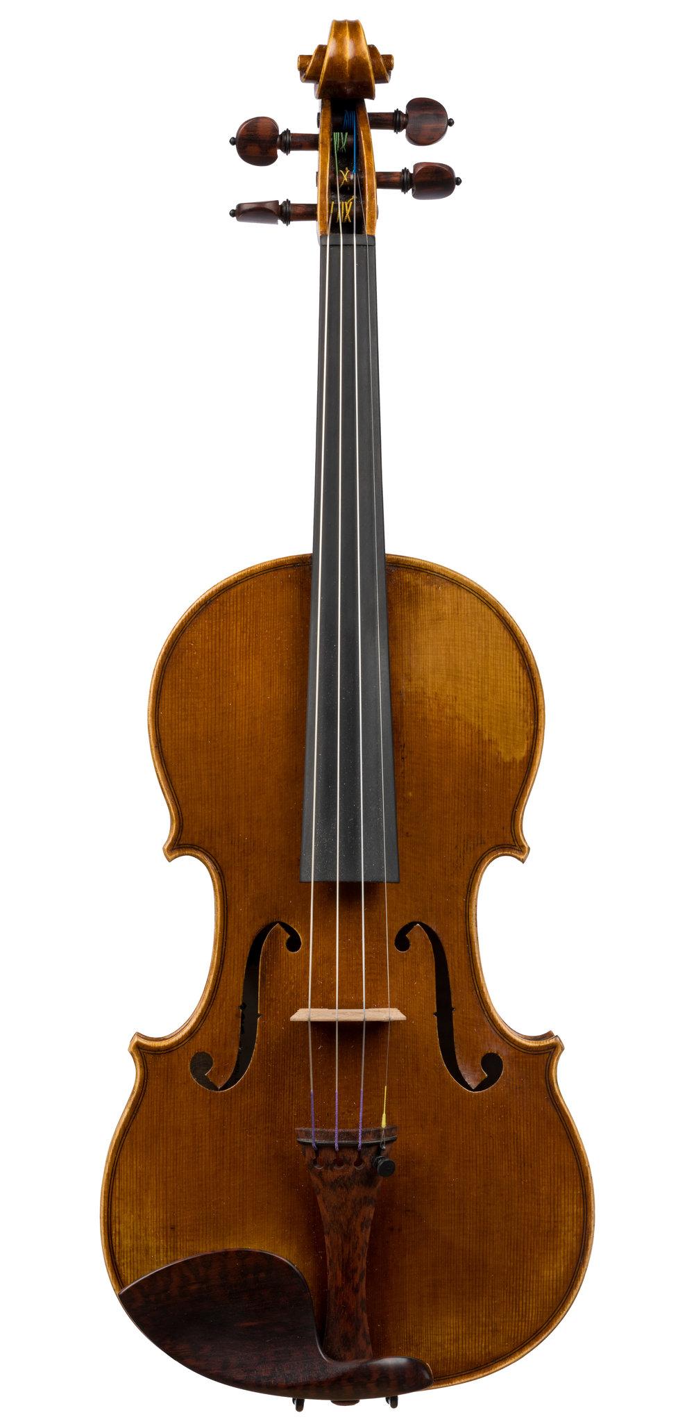 Drew Harding violin, Chicago, 2018 -