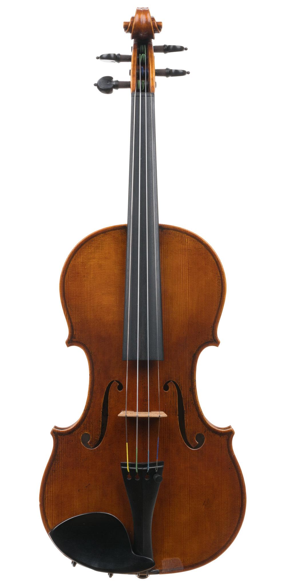 Heeyoung Kang 7/8 violin, Chicago, 2015 -