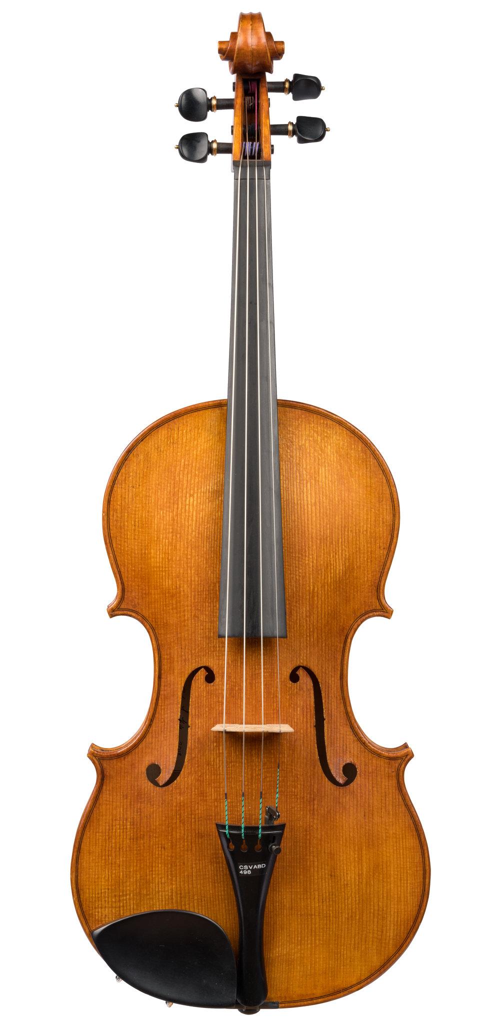 Dylan L. Kole viola, Chicago, 2018, 16 1/4