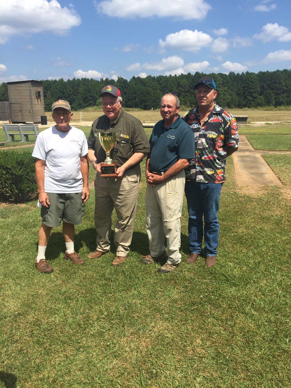 The 2017 Federal Bar Association Clay Shoot Winning Team
