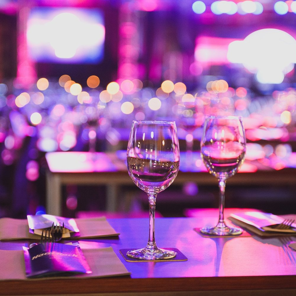 - Event Sponsor | $2,500 |Recognition and branding in all print and digital marketingMention in all press releases and news coverageA table of 8 branded with sponsor's materials(8) served 3-course meal with beverages included