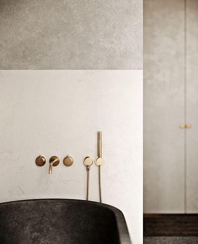 Elegant bathtub inspiration from @alchemy_newyork ✨