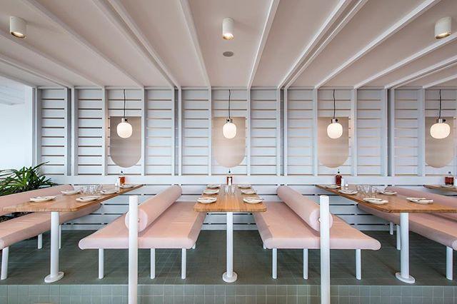 DREAMY pizzeria in Adelaide, Australia designed by @studio_gram 🍕🇦🇺