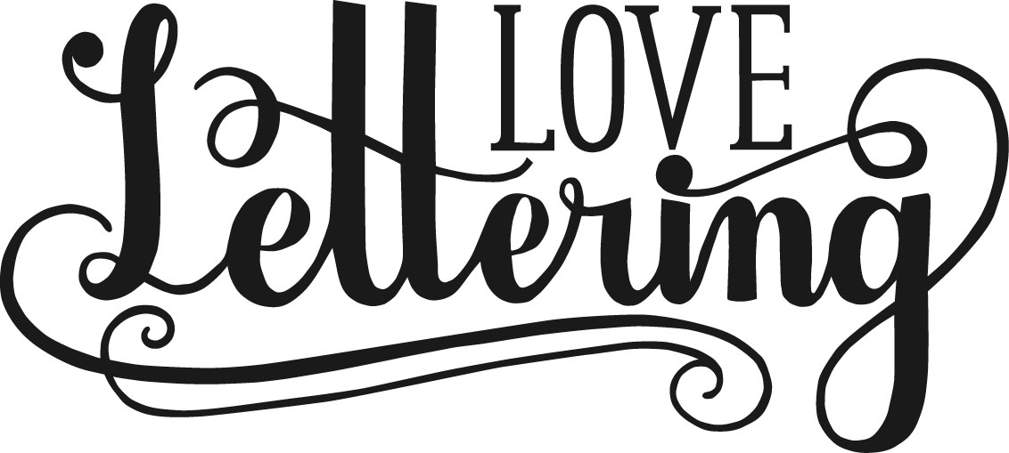 09b97af24172 Love Lettering. Your Custom Text Here