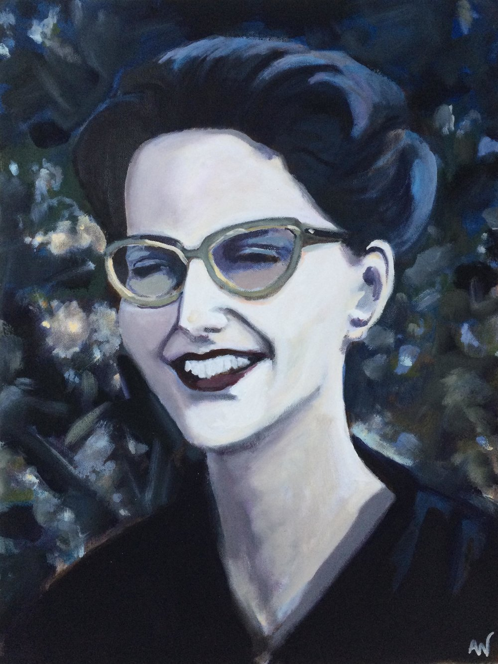 Ben's Mom, Oil on Canvas, 18x24""