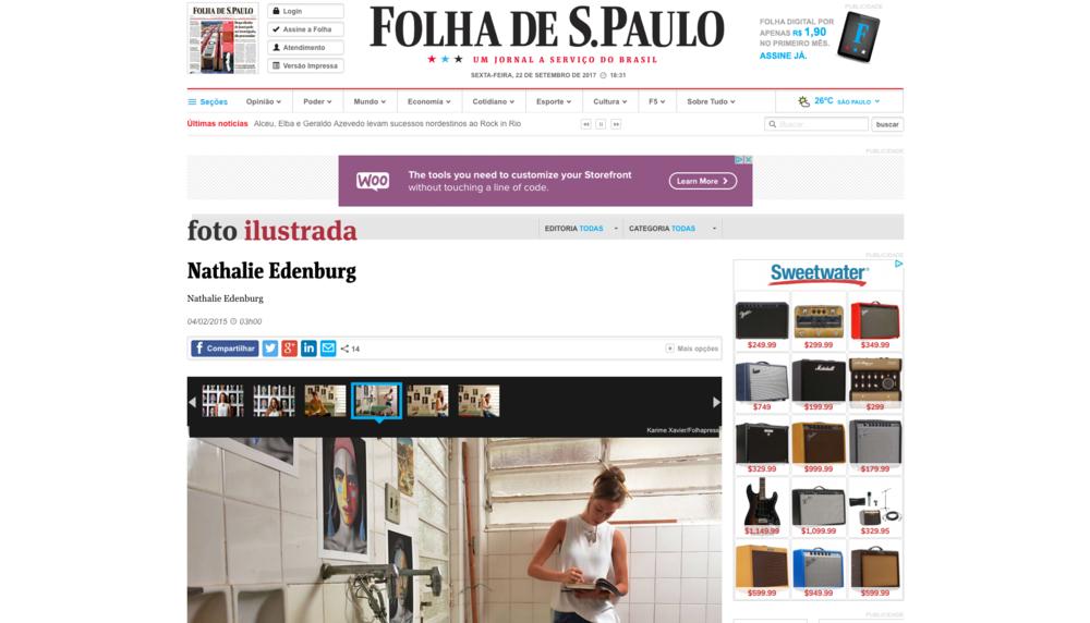 Folha de Sao Paulo - Newspaper