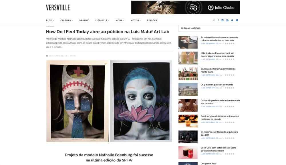 Versatille - Magazine