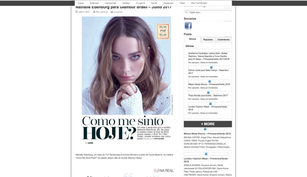 Glamour Brasil - Magazine