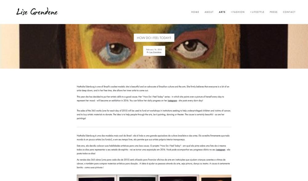 Lise Grendene - Blog