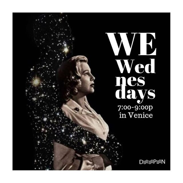 Open to receiving a gift from Bali?  Tonight's #WeWednesday beginning at 7pm in Venice features Guides Silver Storic + Georgia Morley (@theedgecocreative), visiting from the Island of a Thousand Temples.  Upon meeting the pair, I discovered Silver and Georgia have a unique view on love: + They don't label. No boyfriend/girlfriend titles. They're not in a relationship. Only exception, they do call themselves a Creationship. + They believe that inviting the other creates freedom. + Since meeting 6-months ago, they've written two books inspired by their love.  Like a good collector, I'm drawn to exhibit them.  Come sample their one of a kind workshop: The Edge of Connection.  The experience is known to radically transform the way you connect in all aspects of your life.  We'll co-create a PLAYing field fueled by trust, allowing and permission.  It's happening at @maesynmusic's Nest tonight.  Intriguing right?! RSVP now! Link in bio!! ❤️