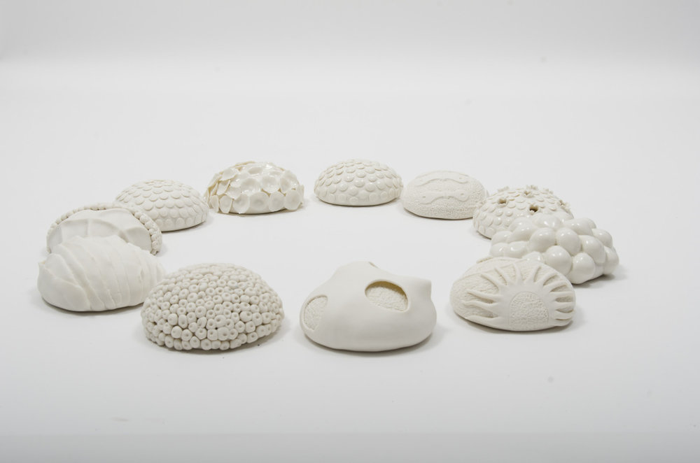 Laura McNamara, Auctus, Porcelain and clear glaze