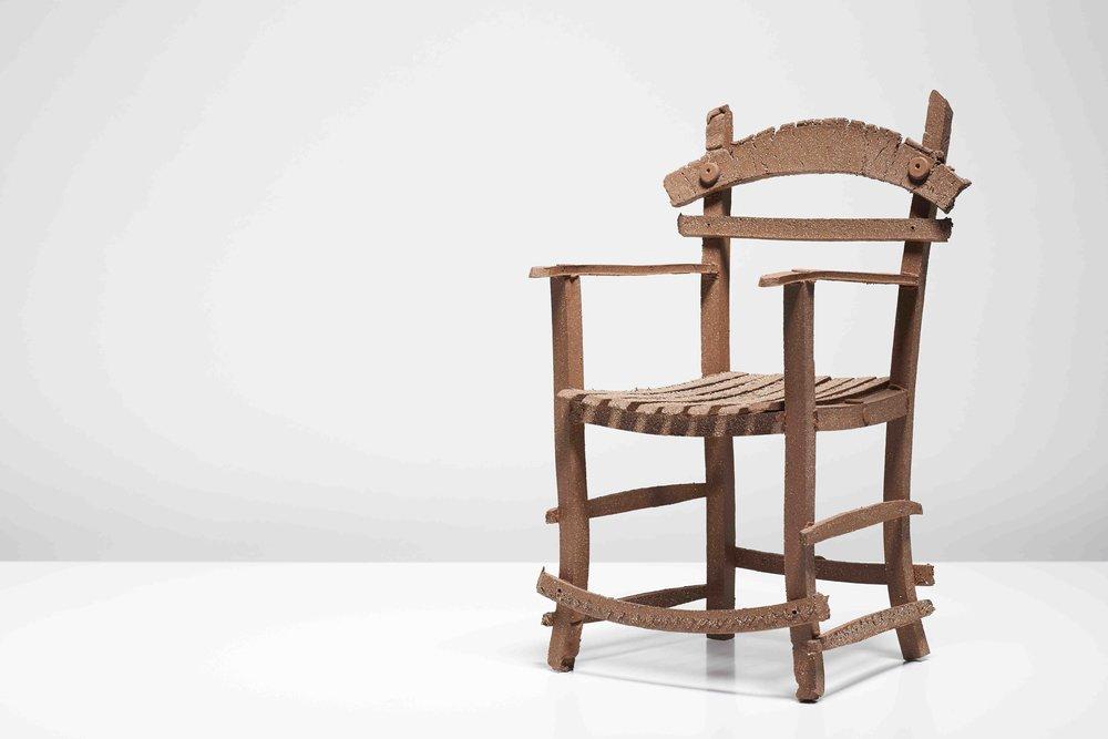 Alex Scott, grannie's wee chair, 2013 Photography by Sylvain Deleu