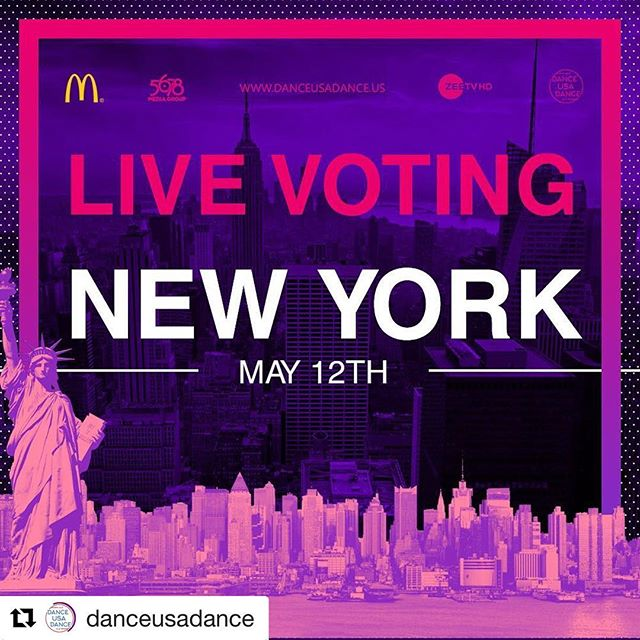 Live from New York, it's Saturday night @danceusadance!  #Repost @danceusadance — NEW YORK ARE YOU READY?? Make sure to bring out everyone you can as there will be live voting at the event!!!! Let's see who gets the audience choice award this time 🤔 #danceusadance #dud2 #dance #newyork #sonamkishaadi #everydayphenomenal #dancer #instagood #smile #happy #fun