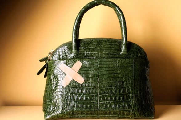 Don't hide that alligator skin bag in the back of your closet.